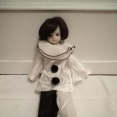 Muñecas Porcelana: PIERROT DE PORCELANA. Lote 195718070
