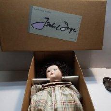 Muñecas Porcelana: MUÑECA PORCELANA ISABEL JORGE EN CAJA ORIGINAL SIN USO. Lote 196206208