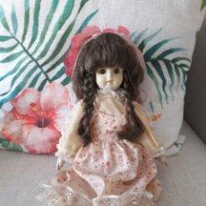 Muñecas Porcelana: MUÑECA PORCELANA AÑOS 80 ITALIANA. Lote 196272836