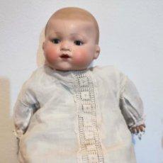 Bambole Porcellana: REPRODUCCIÓN BEBÉ ARMAND MARSEILLE. PORCELANA Y PLÁSTICO. AÑOS 90. Lote 196828665
