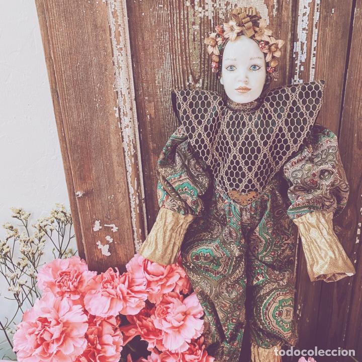 Muñecas Porcelana: Preciosa Muñeca de Porcelana ANTIQUE UNIQUE - Foto 2 - 148656474