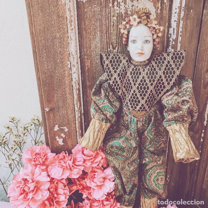 Muñecas Porcelana: Preciosa Muñeca de Porcelana ANTIQUE UNIQUE - Foto 6 - 148656474