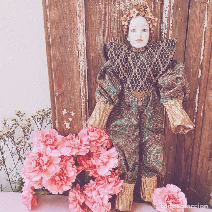 Muñecas Porcelana: Preciosa Muñeca de Porcelana ANTIQUE UNIQUE - Foto 11 - 148656474
