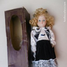 Muñecas Porcelana: MUÑECA PORCELAIN DOLL - CON CAJA - SIN USAR. Lote 202975308