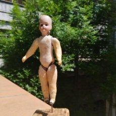 Muñecas Porcelana: MUÑECO PORCELANA Y PASTA 1900. Lote 203137157