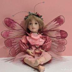 Muñecas Porcelana: PRECIOSA MUÑECA LINDA MASON - HADAS - PORCELANA. Lote 203825366