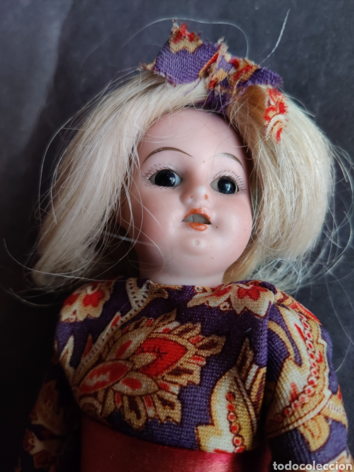 Muñecas Porcelana: Cabeza muñeca de porcelana Aich & Menzel, Made in Austria, molde 1904 - Foto 2 - 203941861