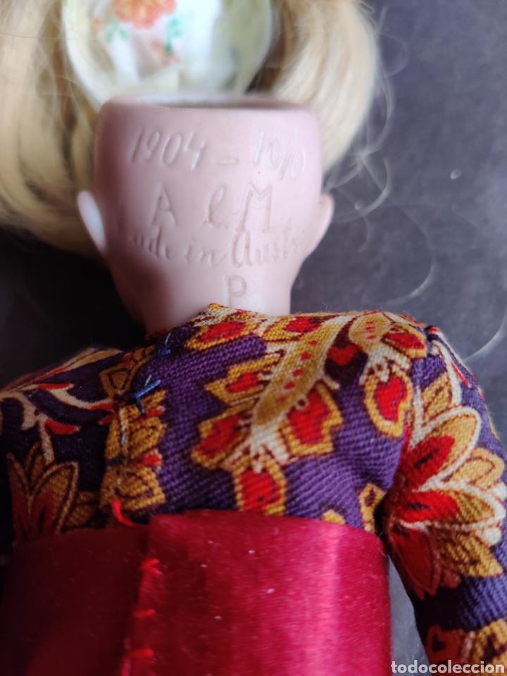 Muñecas Porcelana: Cabeza muñeca de porcelana Aich & Menzel, Made in Austria, molde 1904 - Foto 4 - 203941861