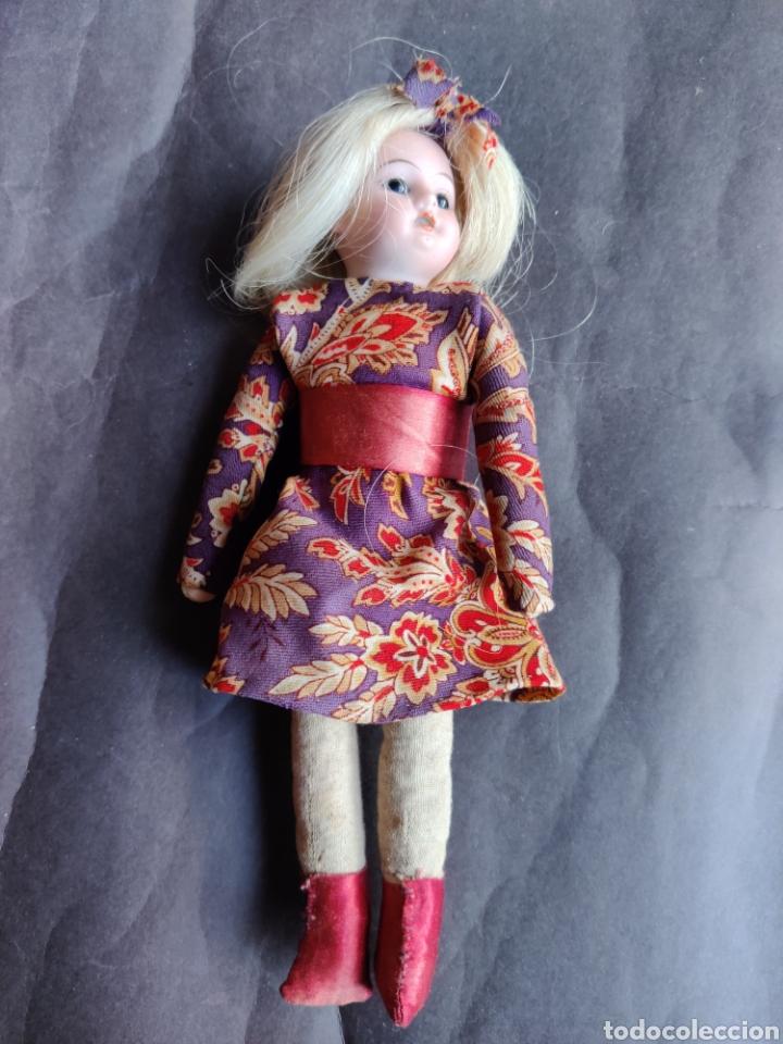 Muñecas Porcelana: Cabeza muñeca de porcelana Aich & Menzel, Made in Austria, molde 1904 - Foto 3 - 203941861