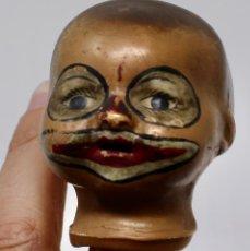 Muñecas Porcelana: PEQUEÑA CABEZA DE PORCELANA , PERSONAJE ORIENTAL- 11 CM.. Lote 204160436
