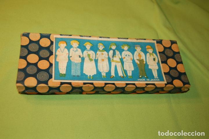 Muñecas Porcelana: caja de muñequitas de porcelana antiguas japan - Foto 5 - 204338472
