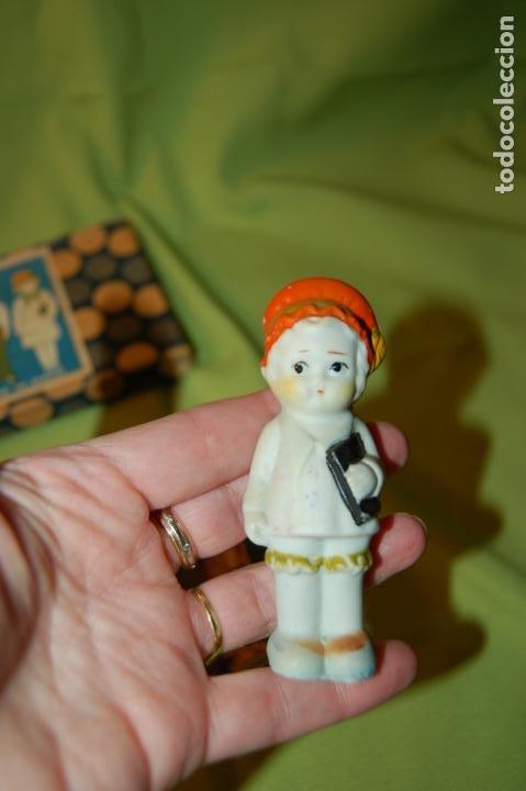 Muñecas Porcelana: caja de muñequitas de porcelana antiguas japan - Foto 6 - 204338472