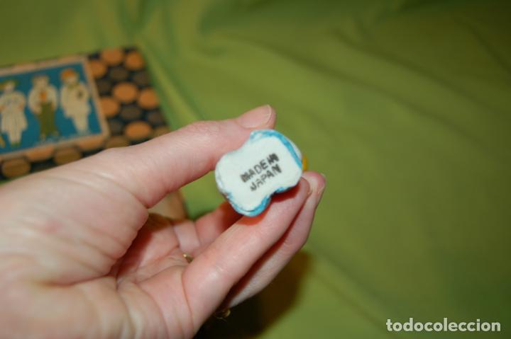 Muñecas Porcelana: caja de muñequitas de porcelana antiguas japan - Foto 7 - 204338472