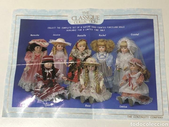 Muñecas Porcelana: MUÑECAS DE PORCELANA JESSICA Y ROSA DE THE CLASSIQUE COLLECTION. NUEVAS EN SUS CAJAS ORIGINALES - Foto 2 - 204433485