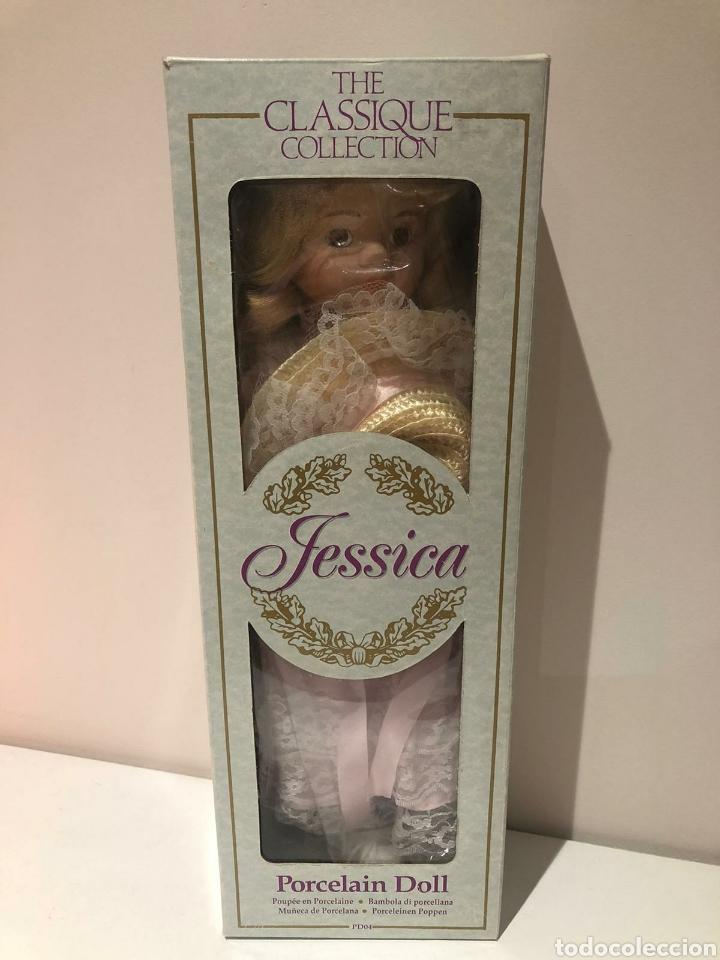 Muñecas Porcelana: MUÑECAS DE PORCELANA JESSICA Y ROSA DE THE CLASSIQUE COLLECTION. NUEVAS EN SUS CAJAS ORIGINALES - Foto 3 - 204433485