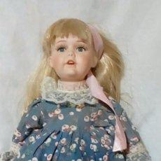 Muñecas Porcelana: ANTIGUA MUÑECA DE PORCELANA 42 CM. Lote 204685432