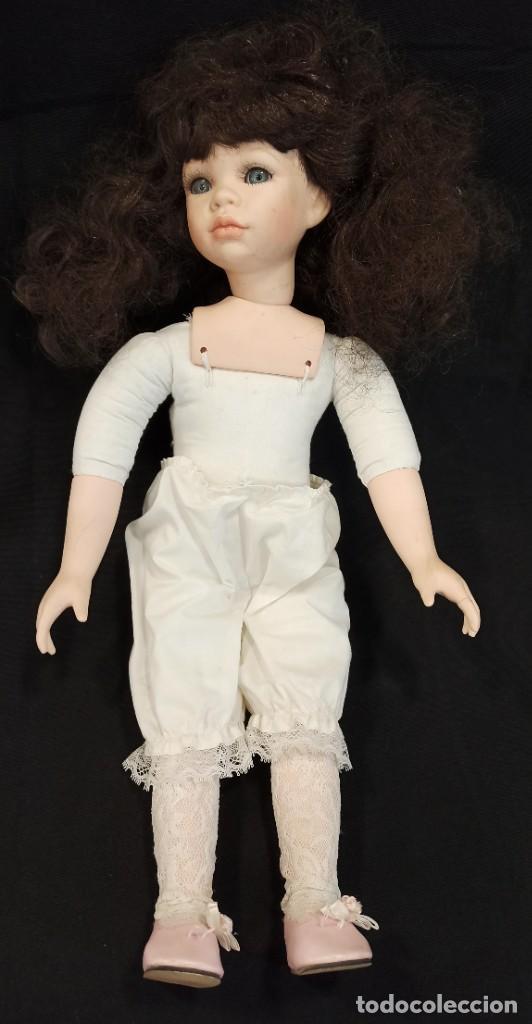 Muñecas Porcelana: Muñeca de porcelana. Alberon. Serie limitada y numerada. C13 - Foto 4 - 205101803