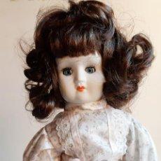 Muñecas Porcelana: MUÑECA PORCELANA BRITANICA VINTAGE AÑOS 60/70 - 46.CM ALTO. Lote 205319888