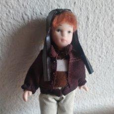 Muñecas Porcelana: MUÑECA DE PORCELANA AVIADORA. Lote 205515318