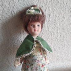 Muñecas Porcelana: MUÑECA DE PORCELANA DAMA ÉPOCA. Lote 205515845
