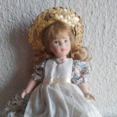 Muñecas Porcelana: MUÑECA DE PORCELANA NIÑA ÉPOCA. Lote 205516038