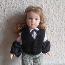 Muñecas Porcelana: MUÑEQUITA DE PORCELANA BANQUERA. Lote 205516723