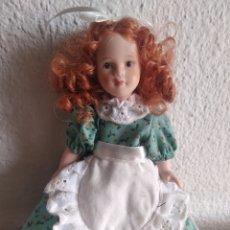 Muñecas Porcelana: MUÑECA DE PORCELANA NIÑA ÉPOCA 3. Lote 205517653