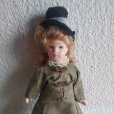 Muñecas Porcelana: MUÑECA DE PORCELANA DAMA ÉPOCA 2. Lote 205518221