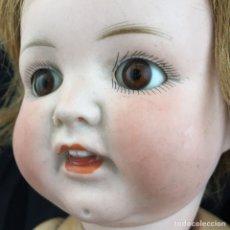 Muñecas Porcelana: ANTIGUA MUÑECA PORCELANA OJOS CRISTAL. Lote 205522338
