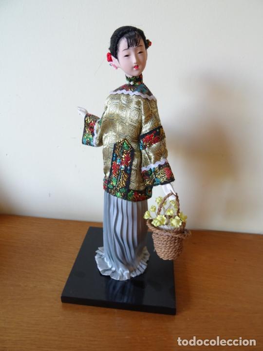 Muñecas Porcelana: PRECIOSA MUÑECA ORIENTAL DE PORCELANA CHINA O JAPONESA - Foto 2 - 205775688