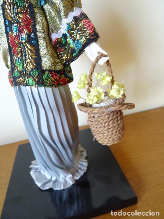 Muñecas Porcelana: PRECIOSA MUÑECA ORIENTAL DE PORCELANA CHINA O JAPONESA - Foto 8 - 205775688