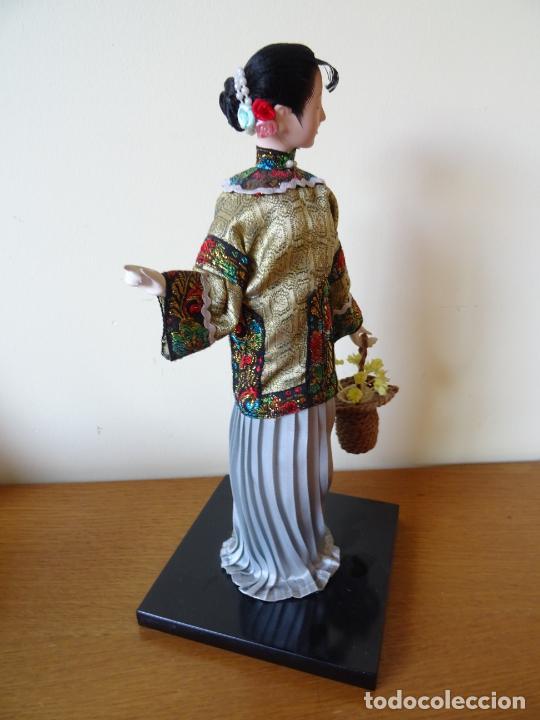 Muñecas Porcelana: PRECIOSA MUÑECA ORIENTAL DE PORCELANA CHINA O JAPONESA - Foto 3 - 205775688