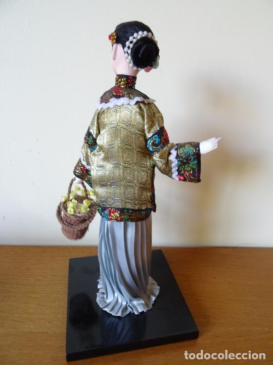 Muñecas Porcelana: PRECIOSA MUÑECA ORIENTAL DE PORCELANA CHINA O JAPONESA - Foto 4 - 205775688