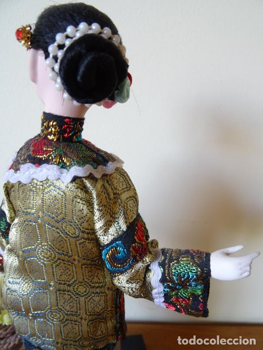 Muñecas Porcelana: PRECIOSA MUÑECA ORIENTAL DE PORCELANA CHINA O JAPONESA - Foto 5 - 205775688