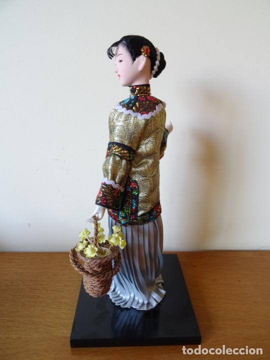 Muñecas Porcelana: PRECIOSA MUÑECA ORIENTAL DE PORCELANA CHINA O JAPONESA - Foto 7 - 205775688