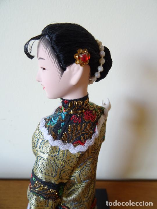 Muñecas Porcelana: PRECIOSA MUÑECA ORIENTAL DE PORCELANA CHINA O JAPONESA - Foto 6 - 205775688