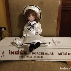 Muñecas Porcelana: MUÑECA DE PORCELANA. FABRICADA POR INGLÉS DE BETERA (VALENCIA). Lote 206136822