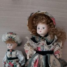 Muñecas Porcelana: MUÑECAS PORCELANA. Lote 206232435