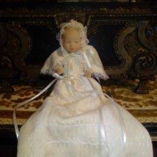 Muñecas Porcelana: ANTIGUO BEBÉ EN PORCELANA DE COLECCIÓN.. Lote 206266541