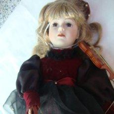 Muñecas Porcelana: MUÑECA DE PORCELANA. Lote 206819081