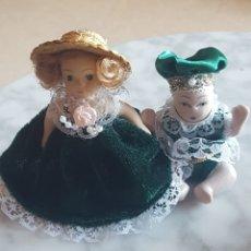 Muñecas Porcelana: MUÑECA MUÑECO BEBE DE PORCELANA PARA CASAS DE MUÑECAS. Lote 207233418