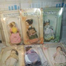Muñecas Porcelana: LOTE DE 6 MUÑECAS PORCELANA DE COLECCIÓN. Lote 207772033