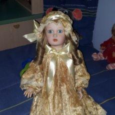 Muñecas Porcelana: ANTIGUA MUÑECA PORCELANA - TERRACOTA - RAMÓN INGLÉS - 70CM -. Lote 207857357