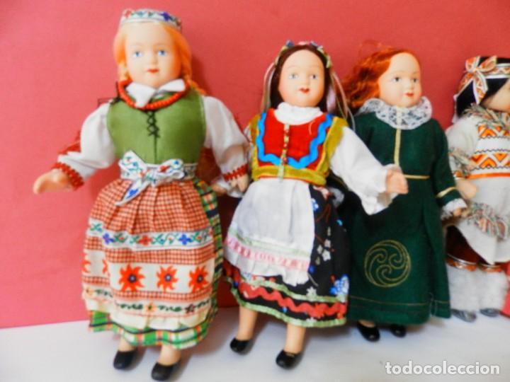 Muñecas Porcelana: LOTE DE 5 MUÑECAS DE PORCELANA TRAJES REGIONALES. PAISES. COLECCIONISTAS - Foto 3 - 208678075