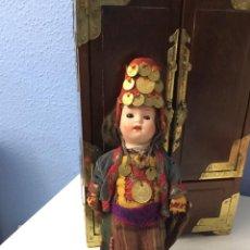 Muñecas Porcelana: MUÑECA ANTIGUA DE PORCELANA MARCADA EN LA CABEZA. SE PUEDE PAGAR CON FACILIDADES.. Lote 209766948