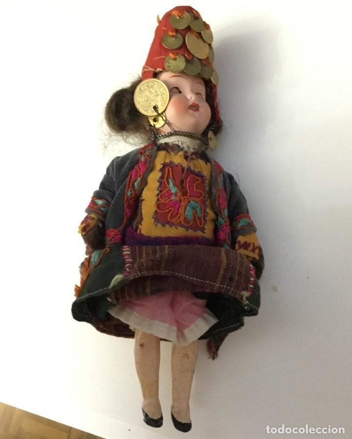Muñecas Porcelana: Muñeca antigua de porcelana marcada en la cabeza. SE PUEDE PAGAR CON FACILIDADES. - Foto 6 - 209766948