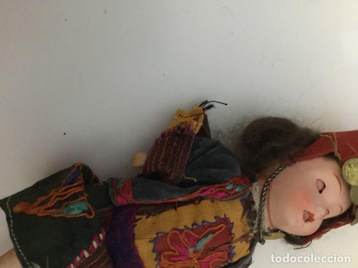 Muñecas Porcelana: Muñeca antigua de porcelana marcada en la cabeza. SE PUEDE PAGAR CON FACILIDADES. - Foto 7 - 209766948