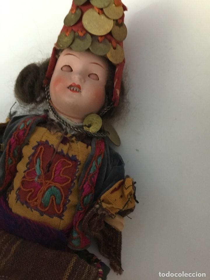 Muñecas Porcelana: Muñeca antigua de porcelana marcada en la cabeza. SE PUEDE PAGAR CON FACILIDADES. - Foto 8 - 209766948