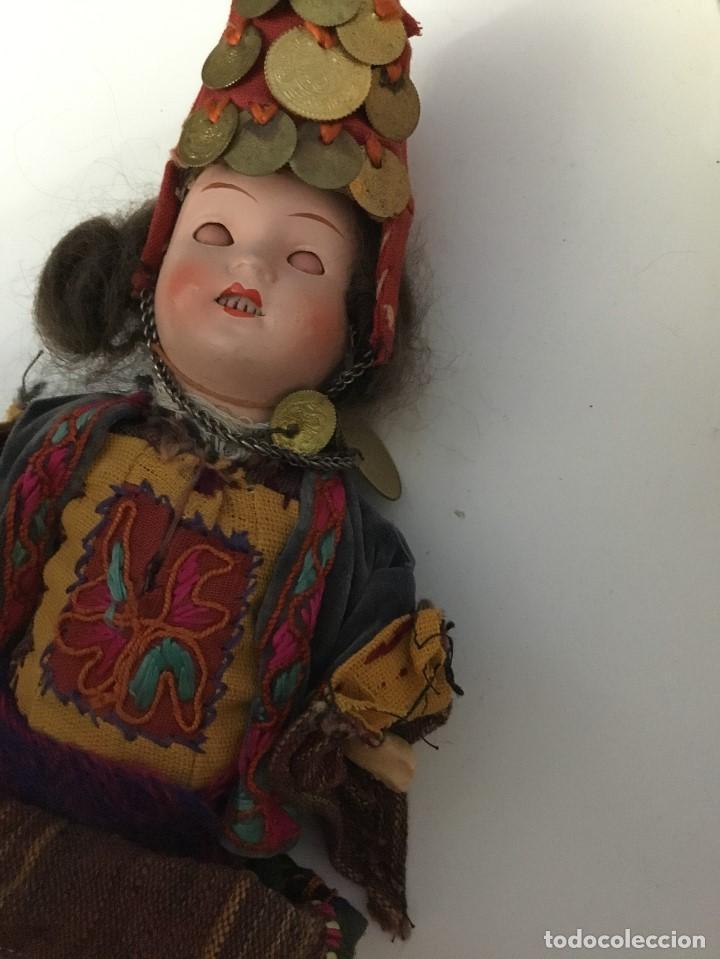 Muñecas Porcelana: Muñeca antigua de porcelana marcada en la cabeza. SE PUEDE PAGAR CON FACILIDADES. - Foto 9 - 209766948