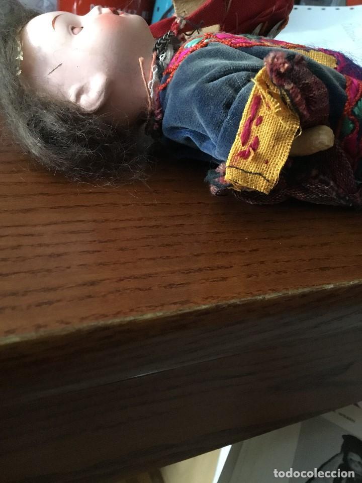 Muñecas Porcelana: Muñeca antigua de porcelana marcada en la cabeza. SE PUEDE PAGAR CON FACILIDADES. - Foto 10 - 209766948